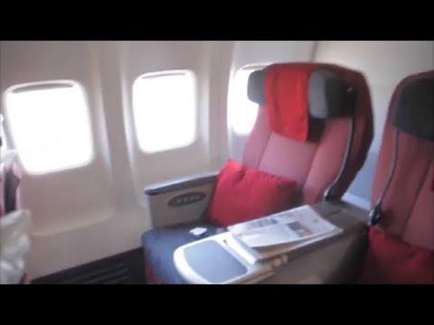 Boarding Business Class Garuda Indonesia