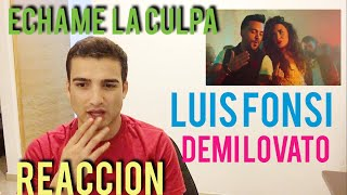 Download Lagu Luis Fonsi, Demi Lovato - Echame la Culpa (REACTION) Gratis STAFABAND