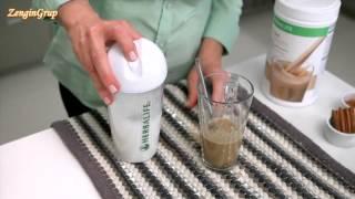 herbalife sıcak shake tarifi