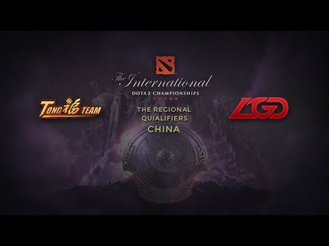 TongFu -vs- LGD.CDEC, TI4 China Qualifier, Round 11