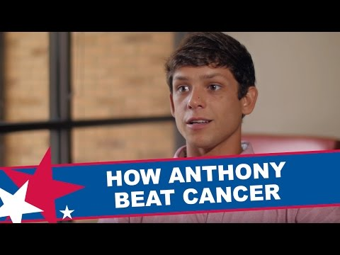 How an anonymous bone marrow donor helped Anthony beat cancer