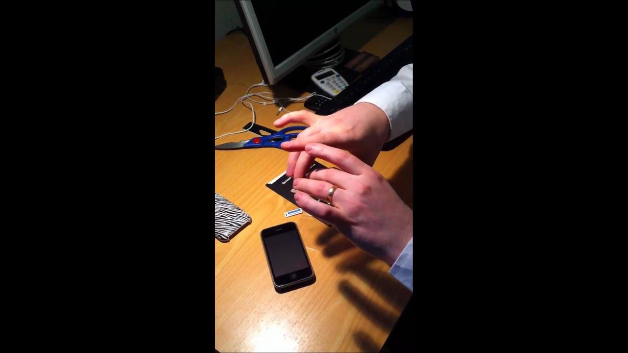 hur man sätter på en kondom