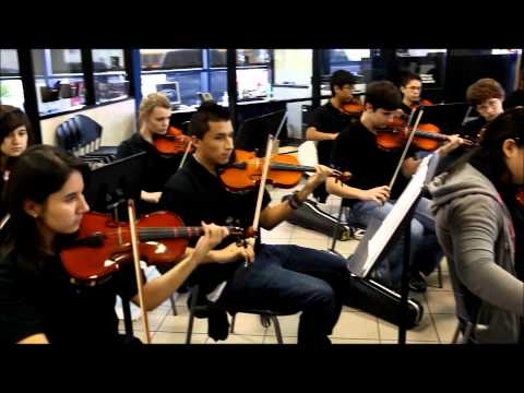 Caney Creek High School Symphony Orchestra Dec 2013