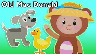 Old MacDonald Had a Farm and More | CLASSIC NURSERY RHYMES | Baby Songs from Mother Goose Club!