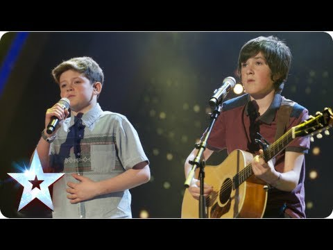 Jack and Cormac sing 'I Knew You Were Trouble' | Semi-Final 2 | Britain's Got Talent 2013