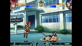 MUGEN - Female Landsknecht, Shogun & F.O.E. AI matches
