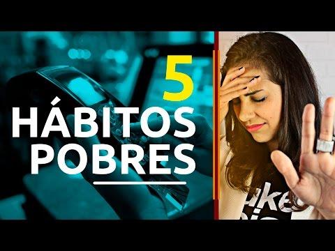5 hábitos pobres! Mude esses erros pobres para atingir a riqueza!