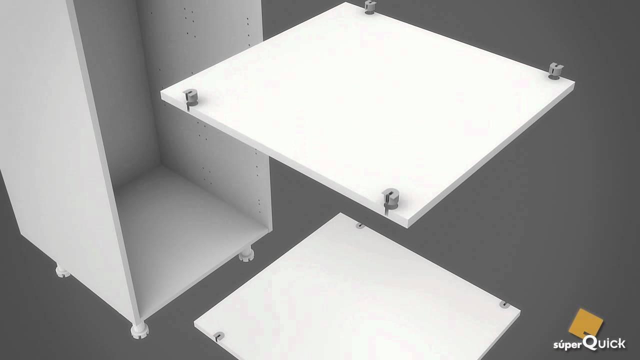 Instrucciones de montaje de semicolumna horno microondas 1 - Mueble para microondas ...