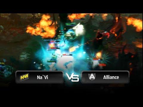 Na`Vi vs Alliance @ StarLadder StarSeries - VII