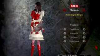 Alice: Madness Returns DLC DRESSES