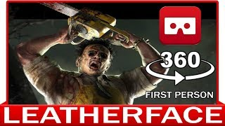 360° VR VIDEO - LEATHERFACE - Halloween Horror - Friday 13th - VIRTUAL REALITY 3D