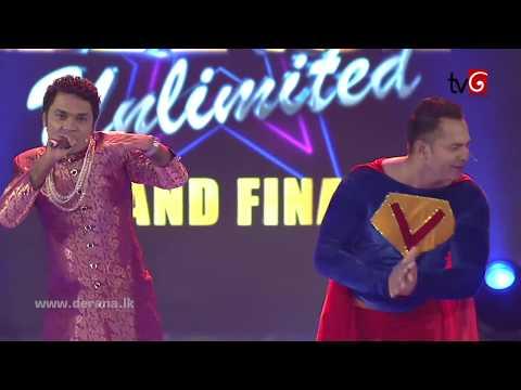 Peshala's Rap @ Derana Dance Unlimited - Grand Finale