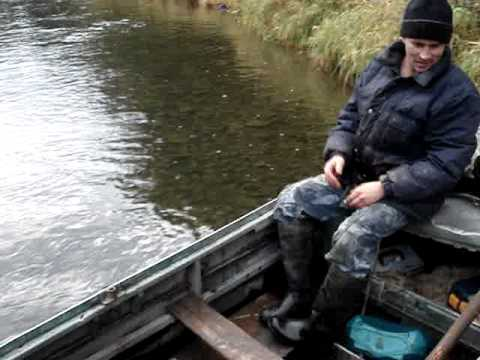 видео рыбалка сетью сплавом