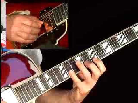 Jazzed Blues Guitar Lessons - Mark Stefani - Lick #2