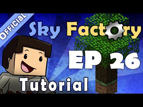 Minecraft Sky Factory Official Tutorial 26 Harvester And Planter