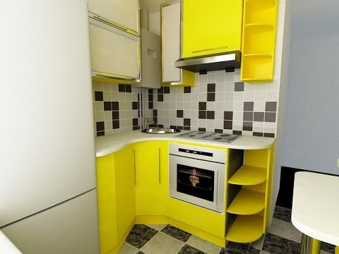 Дизайн маленьких кухонь своими руками