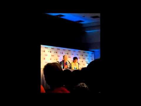 Makoto Shinkai Garden Of Words Panel AX 2013 Part 2