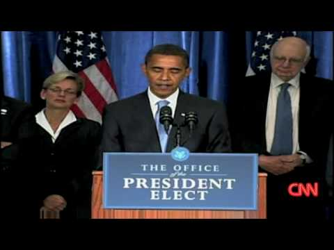 Obama prefers  mutt like me  [First press conference]