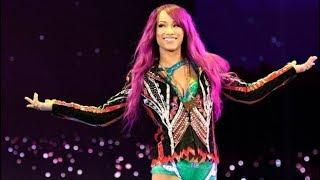 WWE Sasha Banks Entrance
