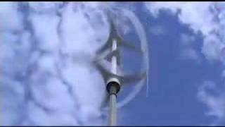Vertical Axis Wind Turbine Helix (Lift Type) VAWT