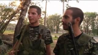 Menudos elementos: detenidos ocho jóvenes españoles por unirse a las milicias prorrusas en Ucrania