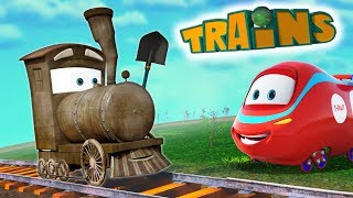 Toy Factory - Choo Choo train - Cars for kids - Cartoon Cartoon - Ethan the Train - Collection