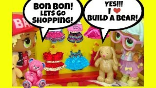 LOL Surprise Dolls Shop at BUILD A BEAR WORKSHOP ♥ Dress Up & Doll Story ♥ Blind Bags Unboxing Video