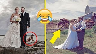 The Most Epic Wedding Photobombs Ever | Funny Pictures