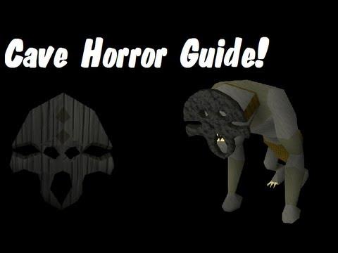 Oldschool Runescape – 2007 In-Depth Cave Horror Guide!   Range Safespot Guide + Black Mask Drop!