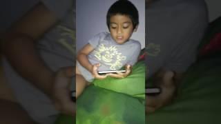 Abang bintang nya baby syanala nyanyi rock