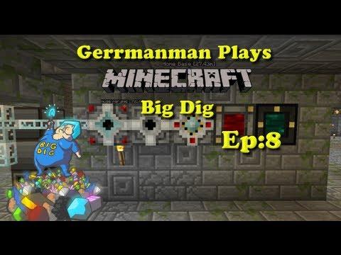 Minecraft Big Dig:8 We Got Da Power