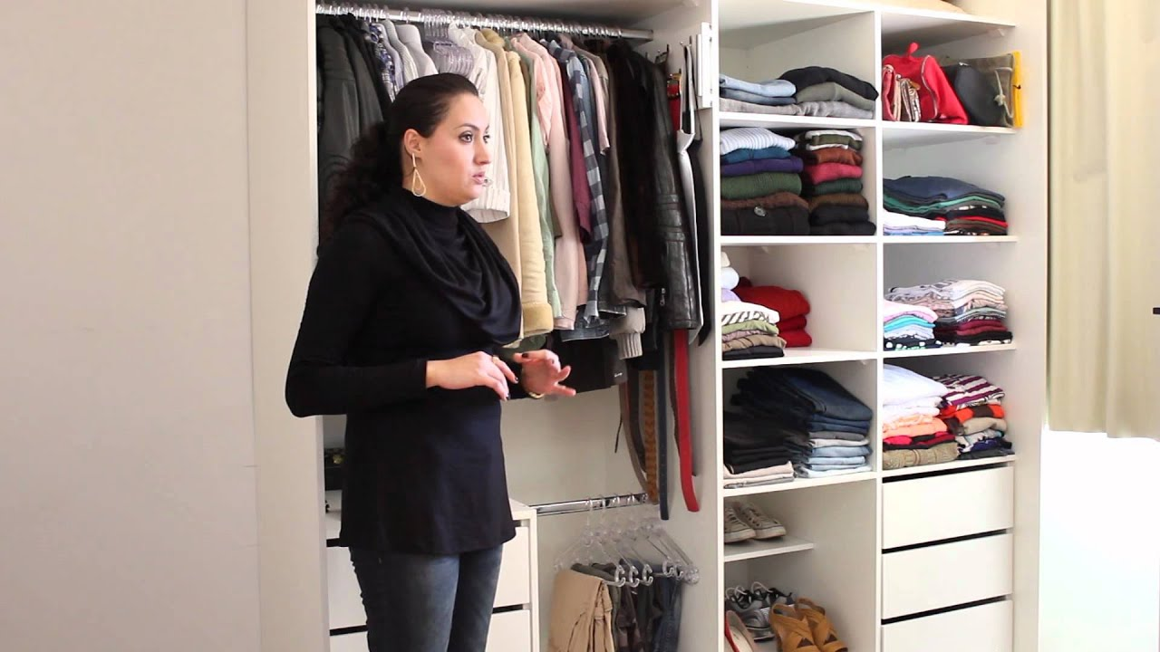 Como organizar um guarda roupa youtube - Como organizar un armario pequeno ...