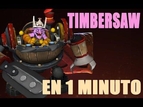 Timbersaw en 1 Minuto / Guia Dota 2