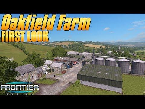 OAKFIELD FARM! - First Look - Farming Simulator 17