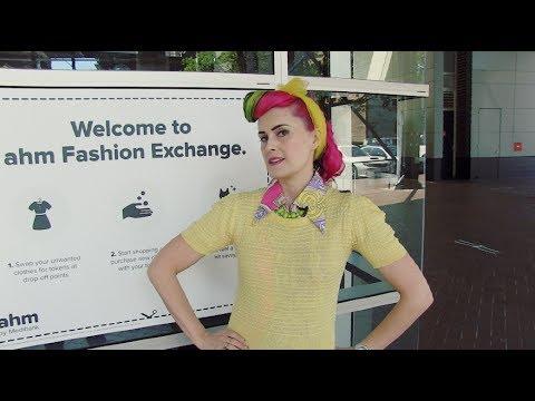 Kitty Von Tastique - At the AHM Fashion Clothing Exchange