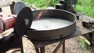 The Birth of an Annealing Pan =)