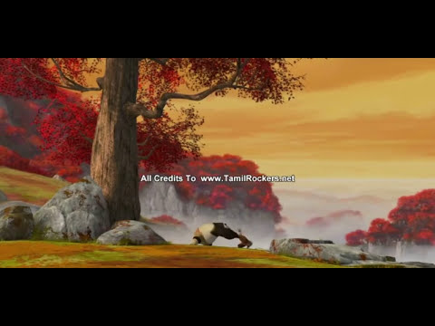 Kung fu Panda-Shifu training Po