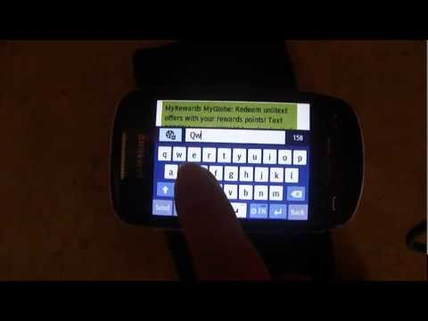 Samsung Corby 2 Qwerty video