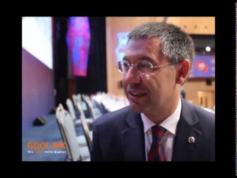 Josep Maria Bartomeu para GOOL.MK & Topki TV