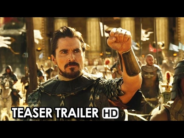 Exodus: Dei e Re Teaser Trailer Ufficiale Italiano (2015) - Christian Bale, Ridley Scott Movie HD