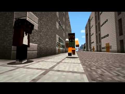 Первый трейлер GTA 5 средствами Minecraft (официальный)