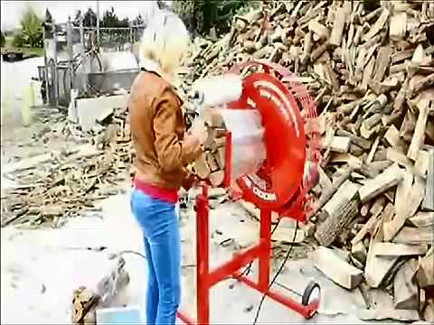 firewood bundle machine