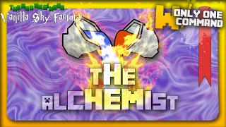 The Alchemist - A vanilla Minecraft Survival map with only two command blocks