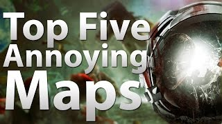 TOP 5 Annoying Maps in 'Call of Duty Zombies' - Black Ops 2 Zombies, Black Ops & WaW