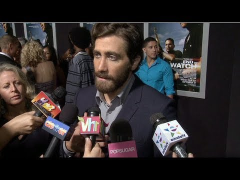 Jake Gyllenhaal Talks Playing Christian Grey!