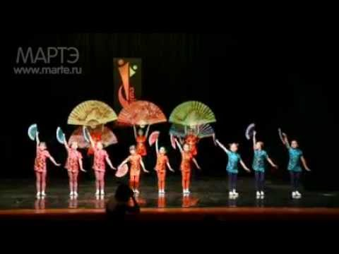 """Современные танцы для детей - """"Волшебный китай"""""""