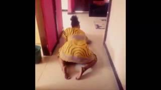 African big booty dance at the home