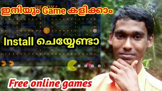 Simple online games