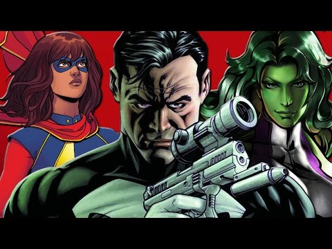 7 Characters We Want To See Join Marvel Cinematic Universe