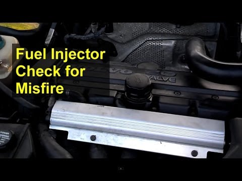 Checking your fuel injectors. trouble shooting a misfire - Auto Repair Series